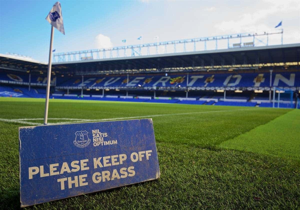 LIVERPOOL, ENGLAND - Sunday, October 4, 2015: A general view of Everton's Goodison Park before the Premier League match against Liverpool, the 225th Merseyside Derby. (Pic by David Rawcliffe/Propaganda)c