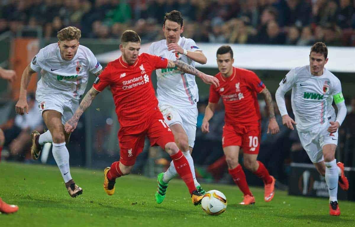 Liverpool Vs Augsburg
