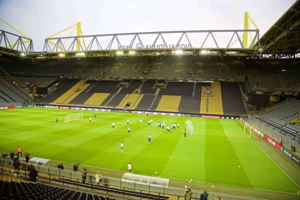 European Football – UEFA Europa League – Quarter-Final 1st Leg – Borussia Dortmund v Liverpool FC