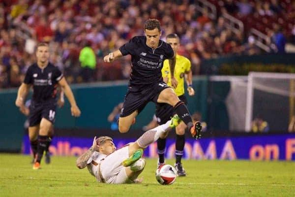 Lances de Roma 2x1 Liverpool - Amistoso 16-17