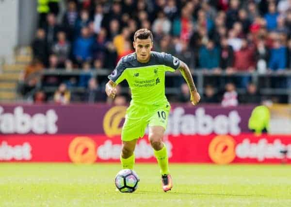 Philippe Coutinho vs. Burnley