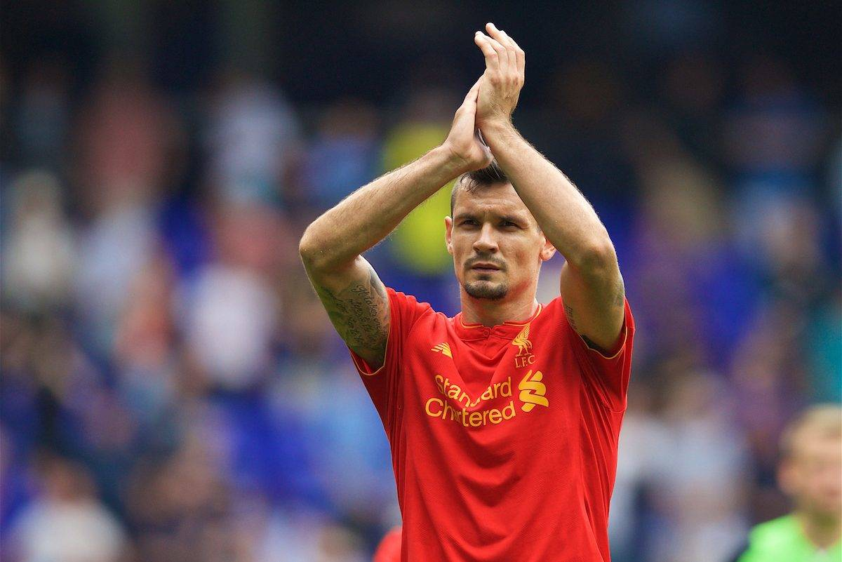 LONDON, ENGLAND - Saturday, August 27, 2016: Liverpool's Dejan Lovren after the 1-1 draw with Tottenham Hotspur during the FA Premier League match at White Hart Lane. (Pic by David Rawcliffe/Propaganda)