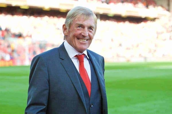 LIVERPOOL, ENGLAND - Saturday, September 10, 2016: Former Liverpool player Kenny Dalglish before the FA Premier League match against Leicester City at Anfield. (Pic by David Rawcliffe/Propaganda)