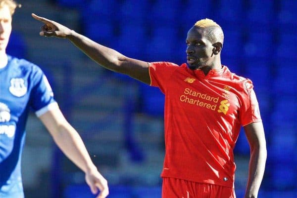 Liverpool's Mamadou Sakho in action against Everton during the Mini-Derby FA Premier League 2 Under-23 match at Prenton Park. (Pic by David Rawcliffe/Propaganda)