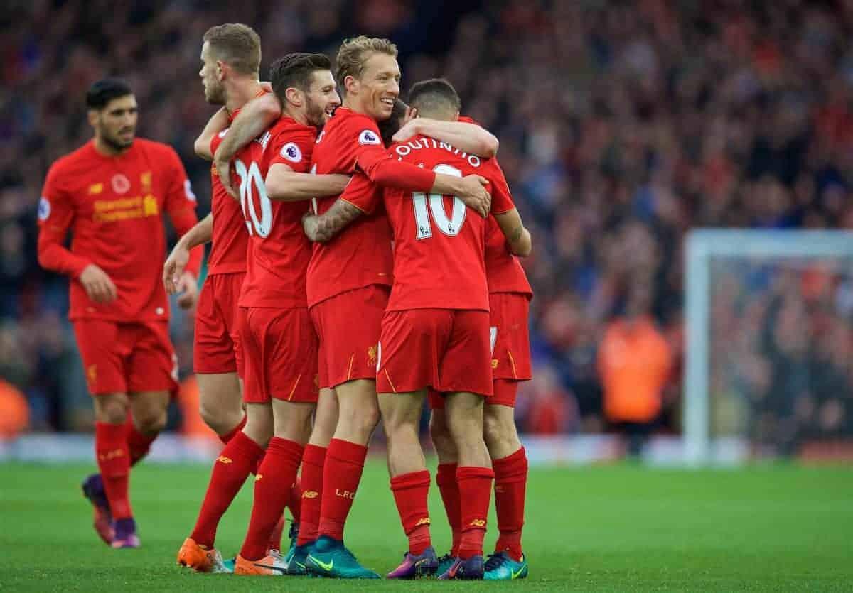 Liverpool golea al Watford (6-1) y se hace con el liderato