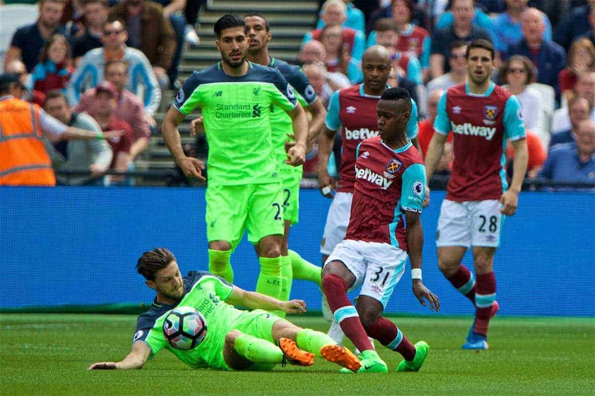 West Ham Liverpool