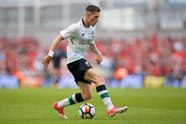 DUBLIN, REPUBLIC OF IRELAND - Saturday, August 5, 2017: Liverpool's Ryan Kent during a preseason friendly match between Athletic Club Bilbao and Liverpool at the Aviva Stadium. (Pic by David Rawcliffe/Propaganda)