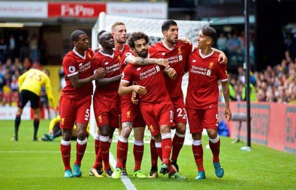 Liverpool 8/13 to win against Watford in Saturday's Premier League clash