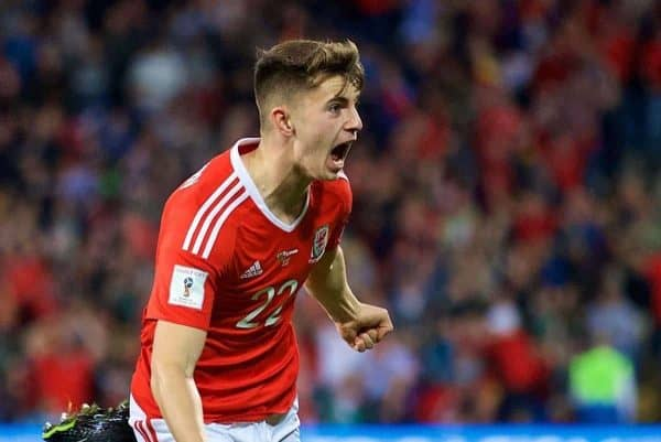Wales' match victor Woodburn 'can be great'