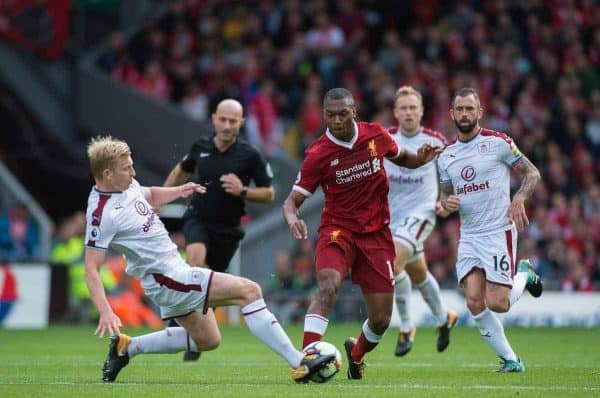 Sturridge, Liverpool vs Burnley