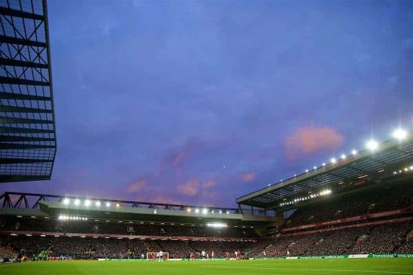 LIVERPOOL, ENGLAND - Sunday, February 4, 2018: A general view of Anfield during the FA Premier League match between Liverpool FC and Tottenham Hotspur FC at Anfield. (Pic by David Rawcliffe/Propaganda)