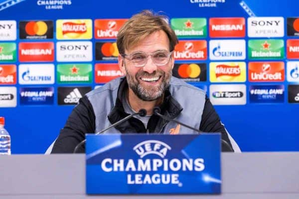 Jurgen Klopp lifts lid on Liverpool's Champions League target