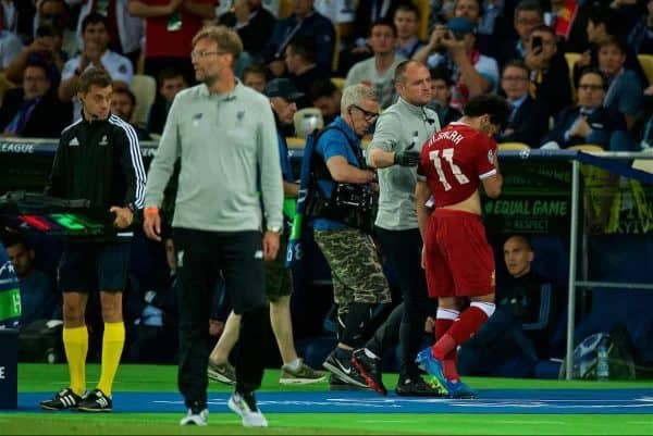 Mohamed Salah to travel to Spain for treatment on shoulder injury