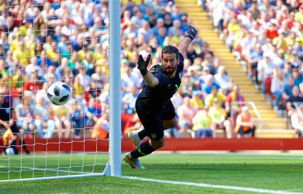Scouting Liverpool Target Alisson