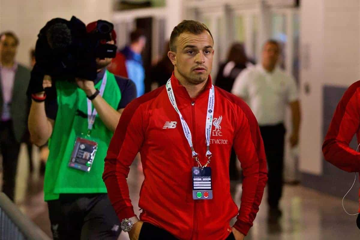 'Maybe they don't like Liverpool' - Shaqiri dismisses critics after move
