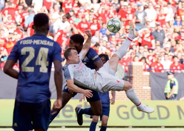 International Champions Cup Report: Manchester United v Liverpool 28 July 2018