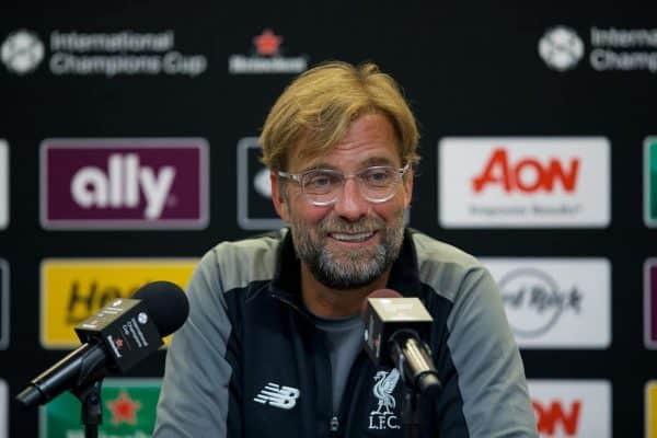 Jurgen Klopp Believes Liverpool Won't be a Selling Club in Near Future