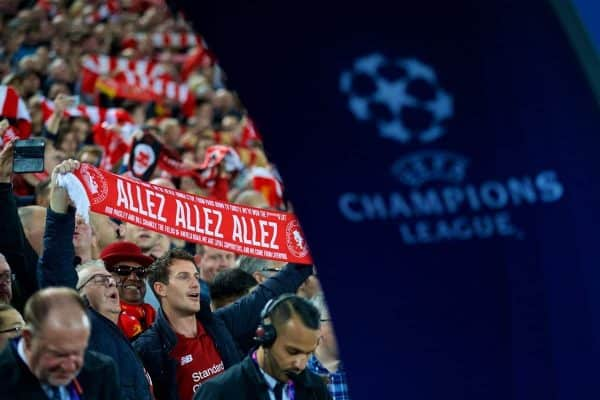 Football – UEFA Champions League – Group C – Liverpool FC v Paris Saint-Germain