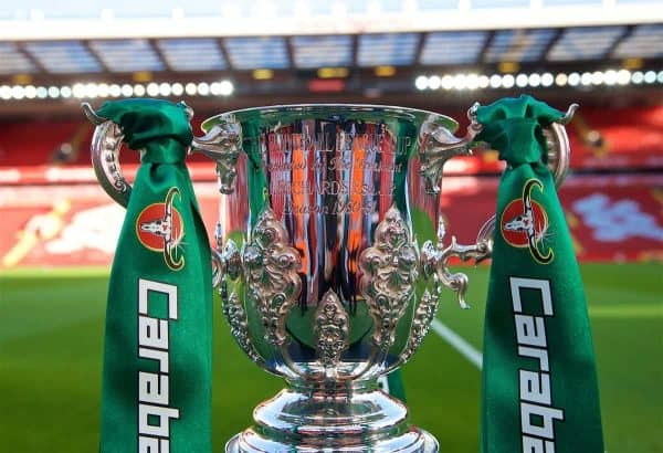 Football – Football League Cup – 3rd Round – Liverpool FC v Chelsea FC