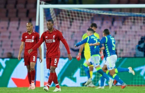 Image result for napoli 1-0 liverpool