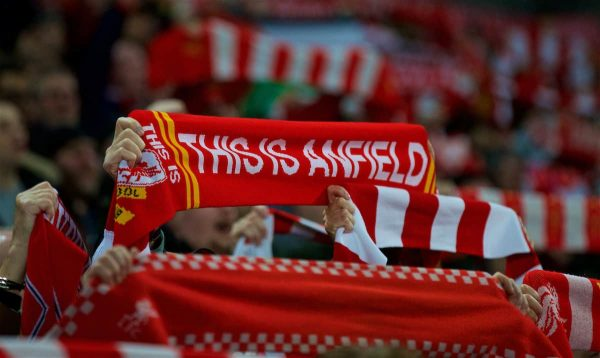 Scarf, This Is Anfield. (Pic by Paul Greenwood/Propaganda)