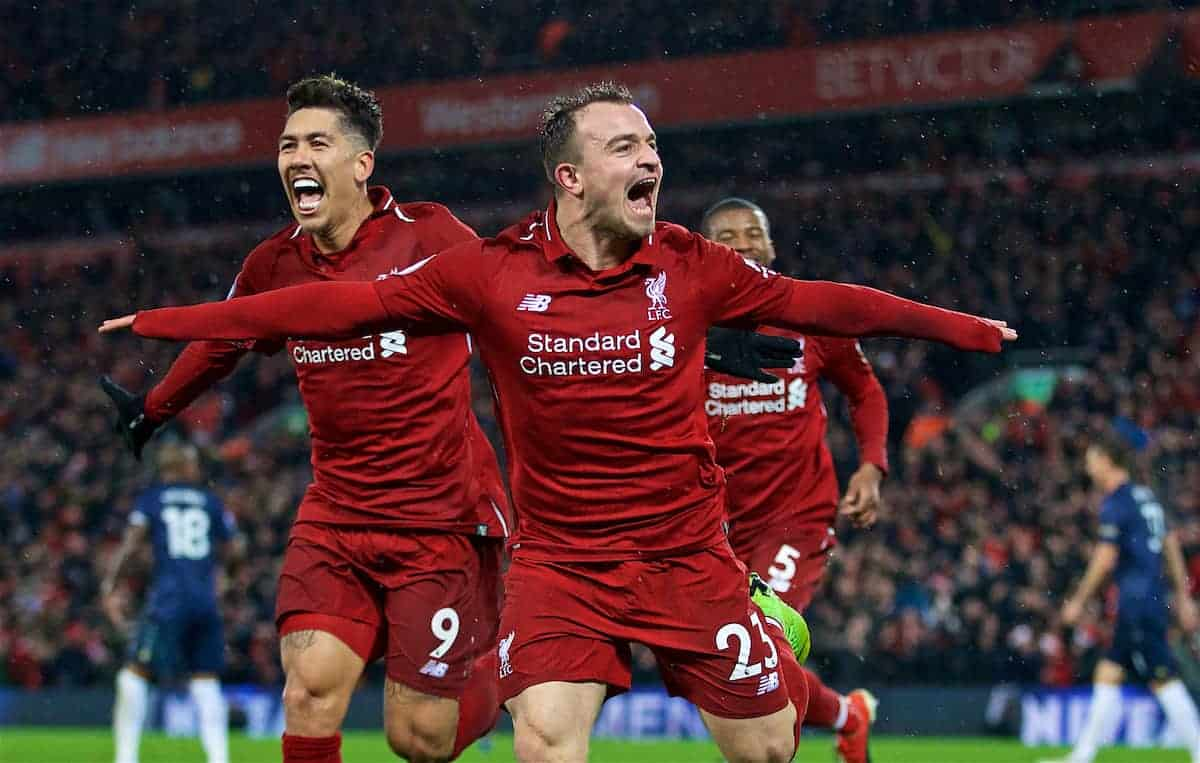 Fans react to Reds' win over Man United