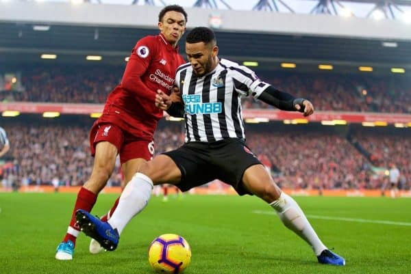 Liverpool keep pressure on City with late win against Newcastle