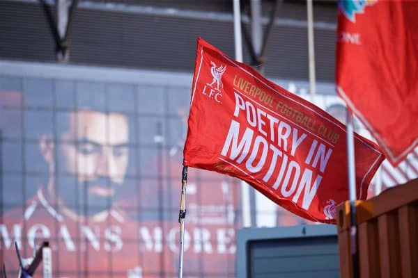 Liverpool flag, Anfield, general (Pic by David Rawcliffe/Propaganda)