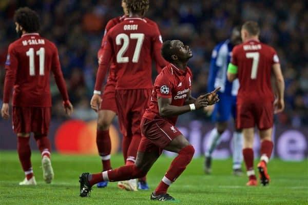 Football – UEFA Champions League – Quarter-Final 2nd Leg – FC Porto v Liverpool FC