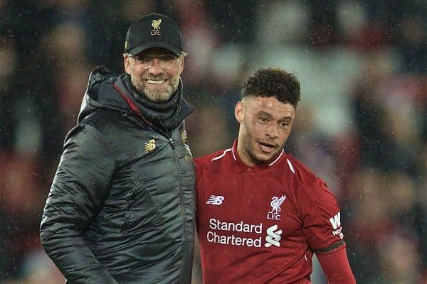 Klopp on Alex Oxlade-Chamberlain's