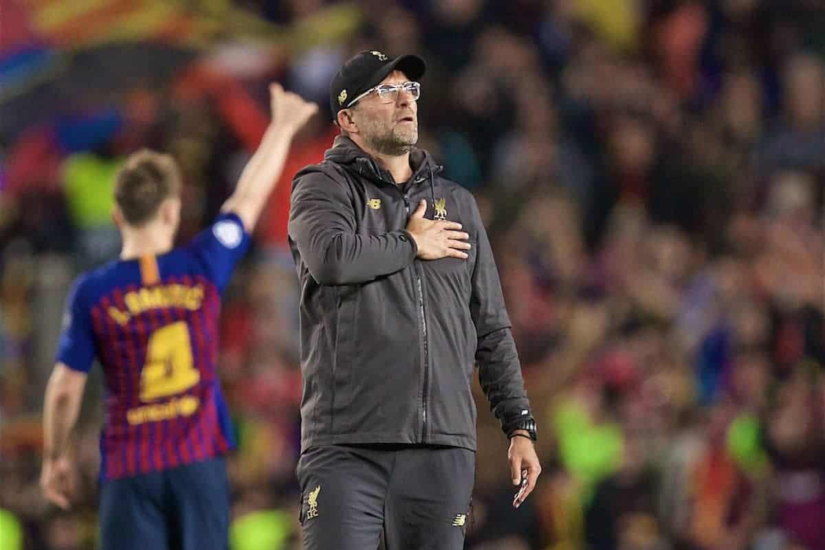 Quote Liverpool Barcelona