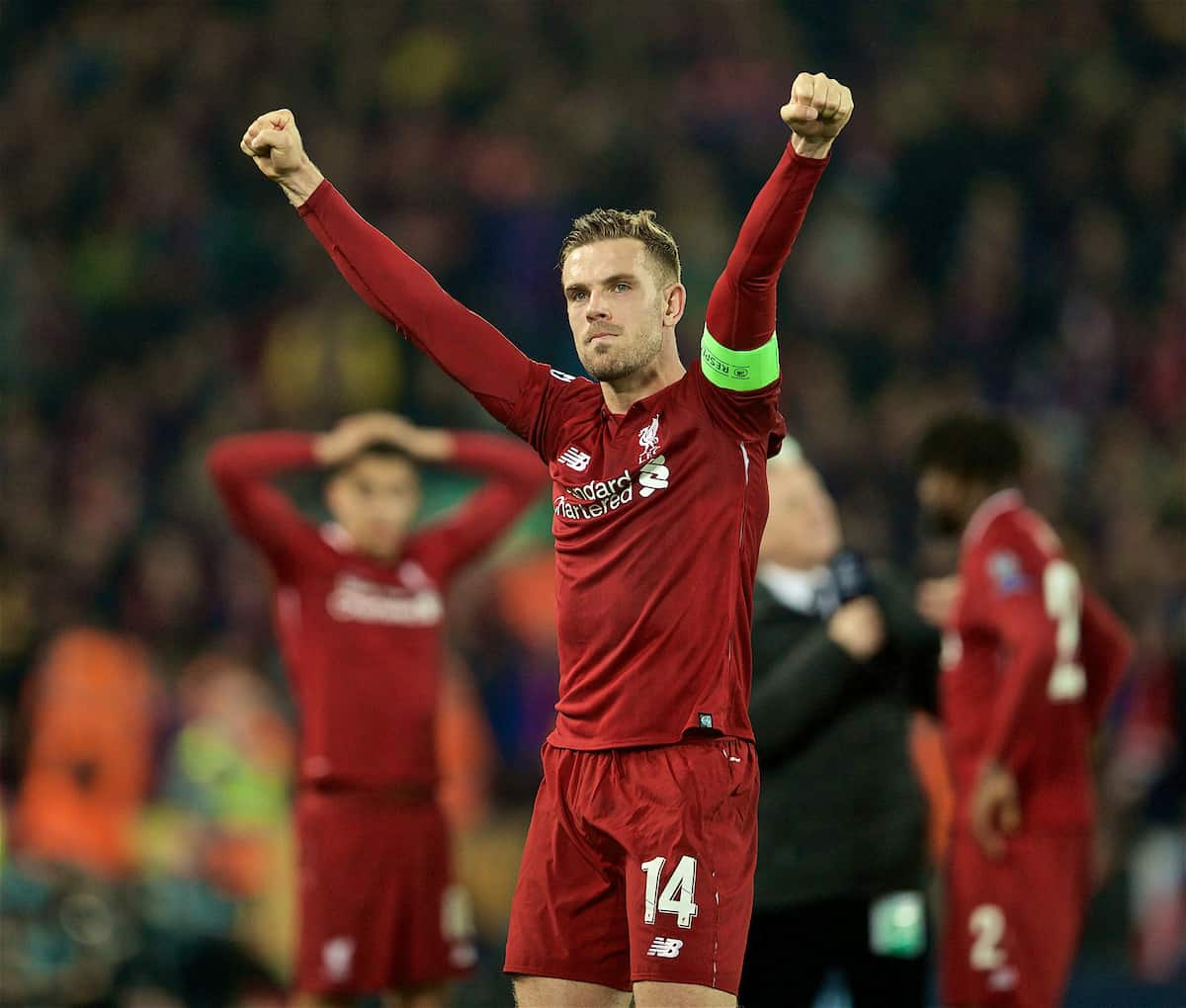 Liverpool Fc Beaten 3 0 By Real Madrid At Anfield: Anfield Produces Its Greatest-ever Night As Liverpool Turn