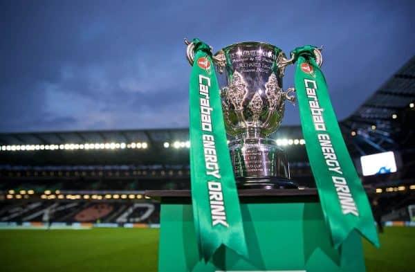 League Cup trophy . (Pic by David Rawcliffe/Propaganda)