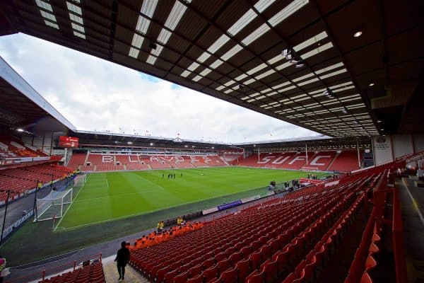 SHEFFIELD, ENGLAND - Thursday, September 26, 2019: A general view before the FA Premier League match between Sheffield United FC and Liverpool FC at Bramall Lane. (Pic by David Rawcliffe/Propaganda)
