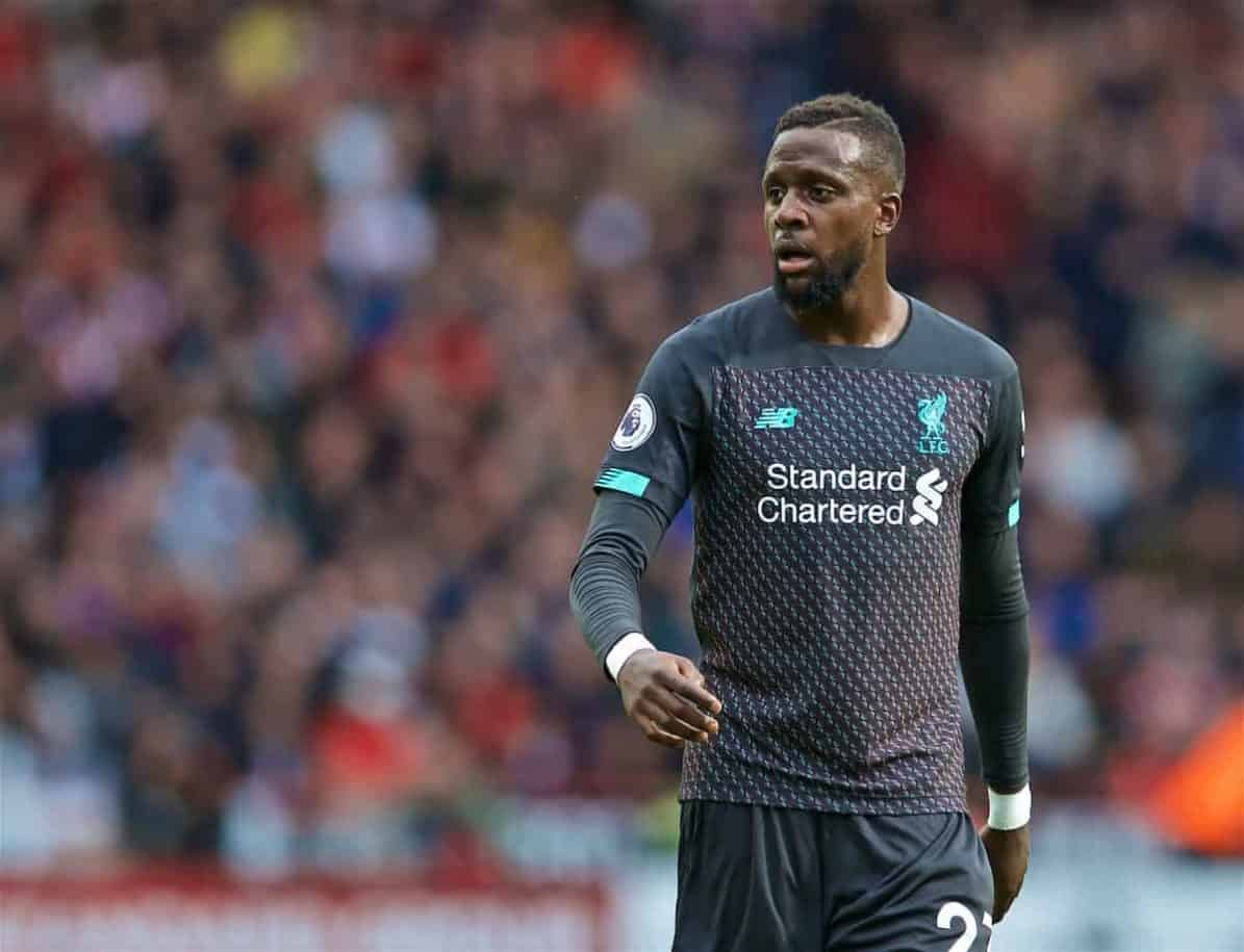 SHEFFIELD, ENGLAND - Thursday, September 26, 2019: Liverpool's Divock Origi, sporting a new short hair cut, during the FA Premier League match between Sheffield United FC and Liverpool FC at Bramall Lane. (Pic by David Rawcliffe/Propaganda)