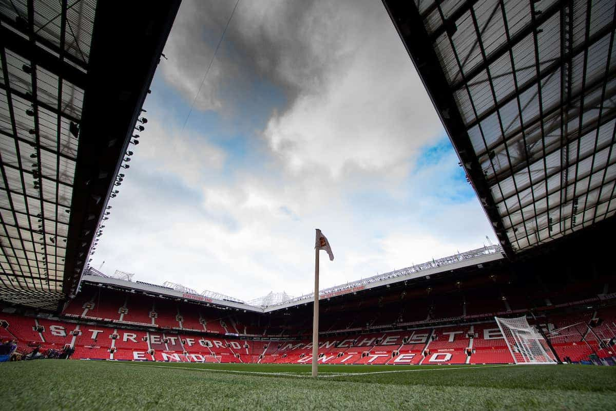 MANCHESTER, ENGLAND - Saturday, October 19, 2019: A general view of Old Trafford ahead of the FA Premier League match between Manchester United FC and Liverpool FC. (Pic by David Rawcliffe/Propaganda)