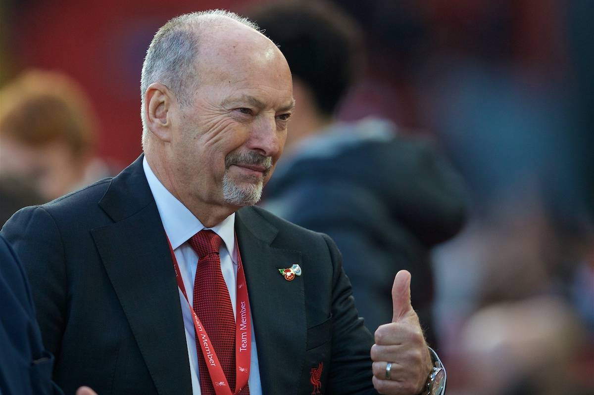 LIVERPOOL, ENGLAND - Sunday, October 27, 2019: Liverpool's chief executive officer Peter Moore before the FA Premier League match between Liverpool FC and Tottenham Hotspur FC at Anfield. (Pic by David Rawcliffe/Propaganda)