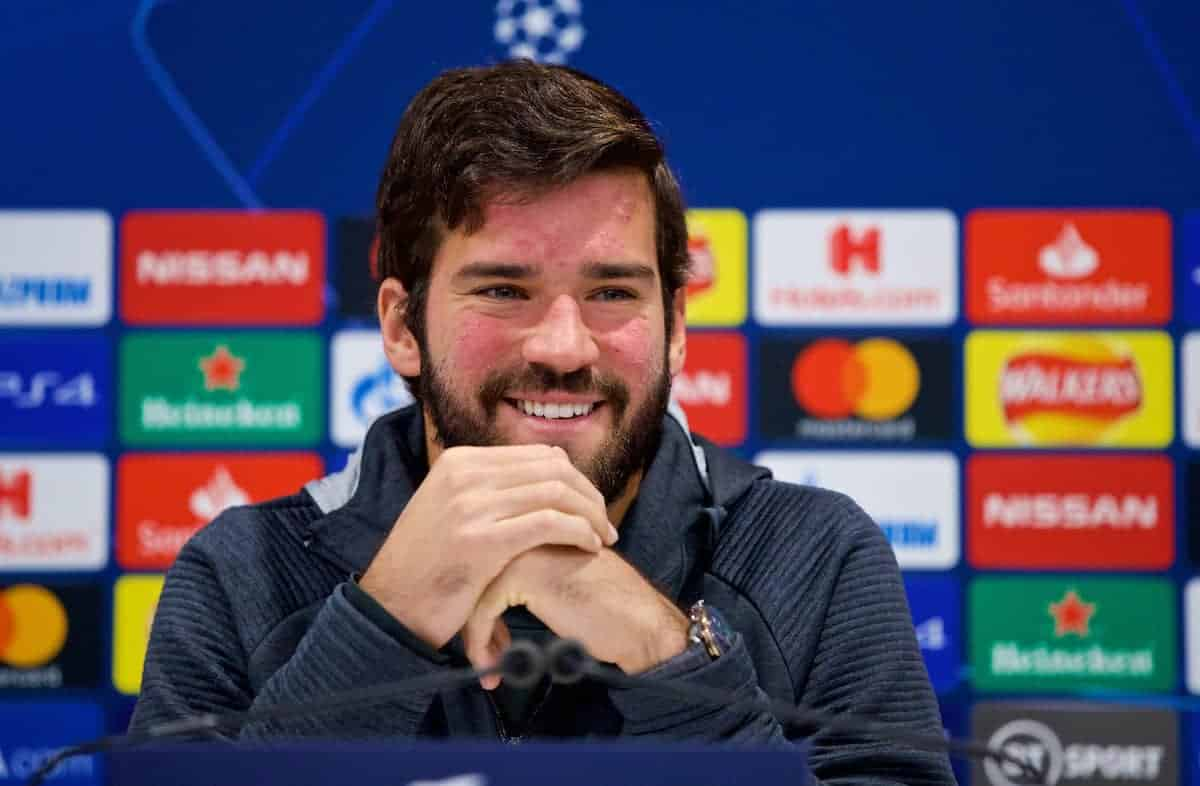 Alisson believes he is nearing 100% as Liverpool forge on without Joel Matip