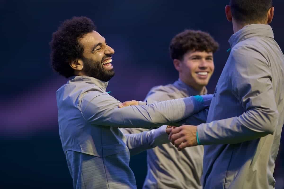 Photos: Liverpool train ahead of Genk match, but Jordan Henderson missing