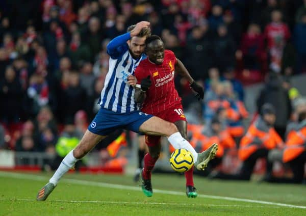 Football – FA Premier League – Liverpool FC v Brighton & Hove Albion FC