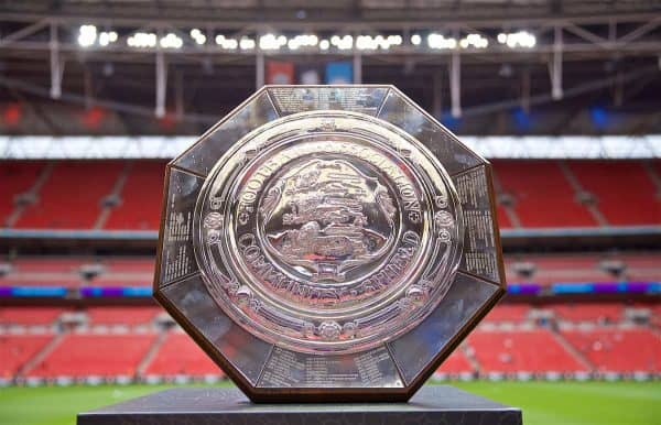 Football – FA Community Shield – Manchester City FC v Liverpool FC
