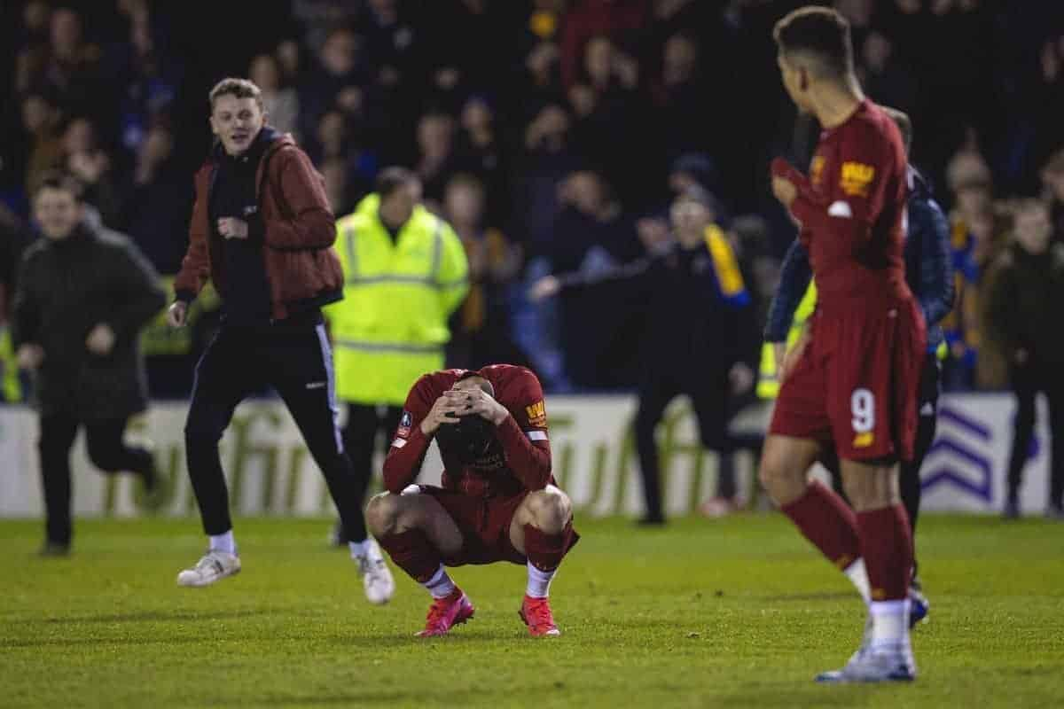 Rusty seniors & praise for Shrewsbury – Liverpool fans react to FA Cup frustration - This Is Anfield