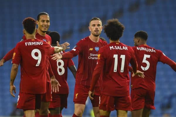 Football – FA Premier League – Brighton & Hove Albion FC v Liverpool FC