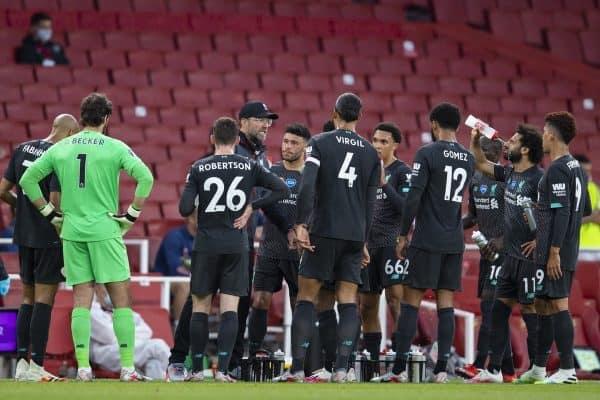 Football – FA Premier League – Arsenal FC v Liverpool FC