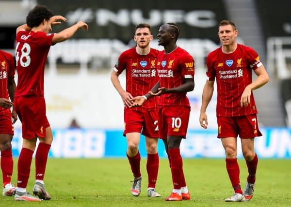 Football – FA Premier League – Newcastle United FC v Liverpool FC
