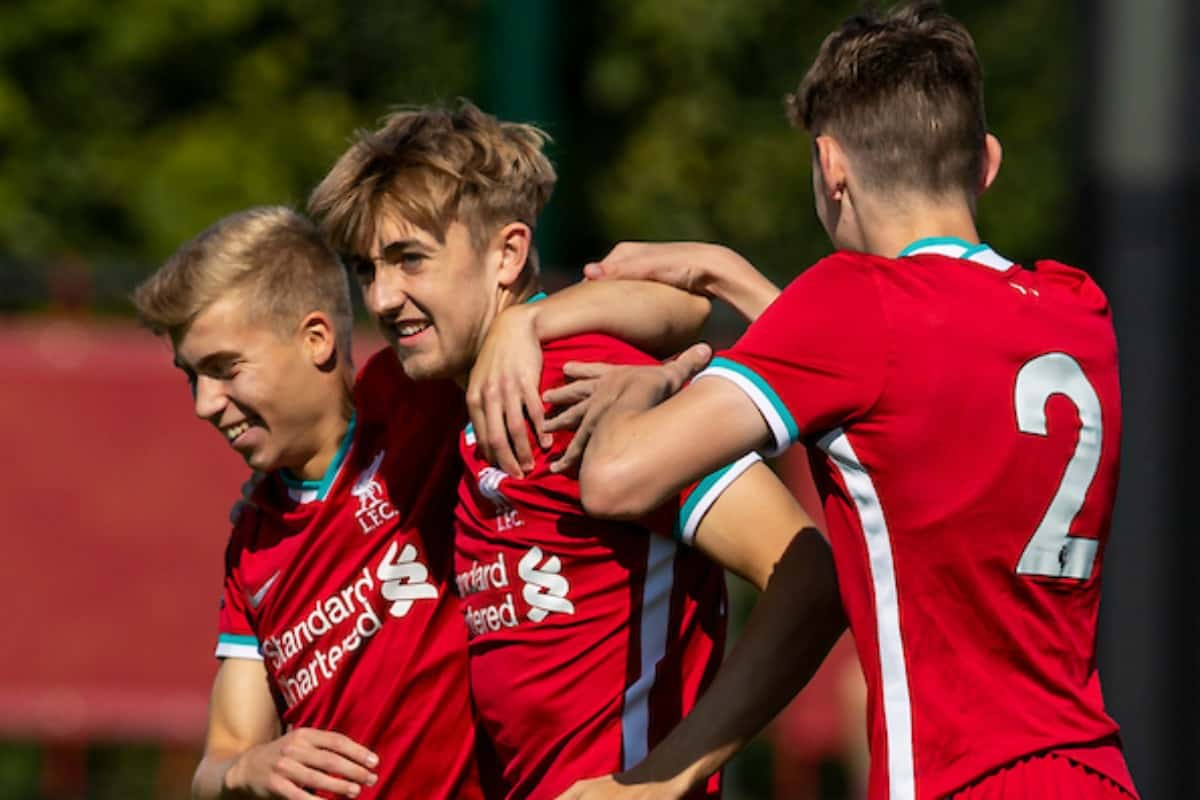 Jake Cain Starts With A Bang In Liverpool U23s Opening Day Merseyside Derby Win Liverpool Fc This Is Anfield
