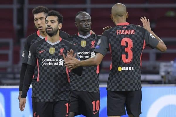 Football – UEFA Champions League – Group D – AFC Ajax v Liverpool FC