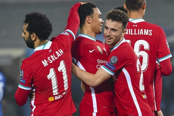 Football – UEFA Champions League – Group D – Atalanta BC v Liverpool FC