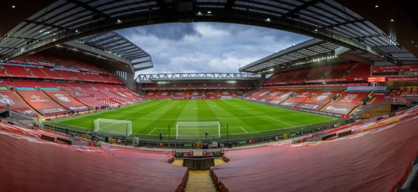 LIVERPOOL, ENGLAND - Sunday, February 7, 2021: Liverpool's xxxx during the FA Premier League match between Liverpool FC and Manchester City FC at Anfield. (Pic by David Rawcliffe/Propaganda)