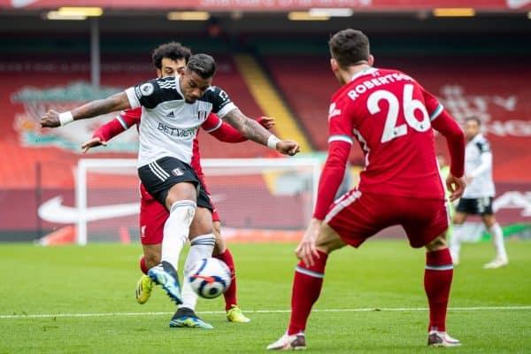 Football – FA Premier League – Liverpool FC v Fulham FC